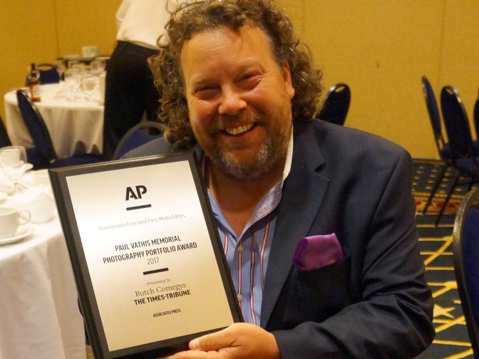Butch Comegys wins Vathis photography award — again!